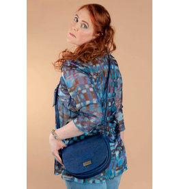Sadle bag Nora  in Denim Blue