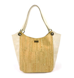 Captain Cork Karina Hobo Bag White