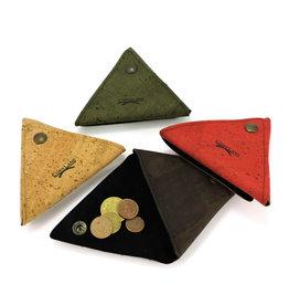 Captain Cork Driehoek portemonnee kleingeld rood