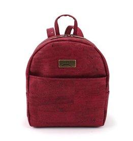 Captain Cork Ine mini backpack in wine red
