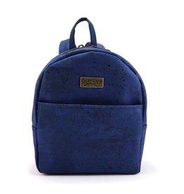 Captain Cork Ine mini backpack in Denim Blue