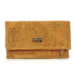 Captain Cork Mia clutch in red