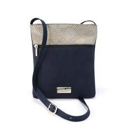 Captain Cork Caroline Shoulder bag blauw, alligator blauw