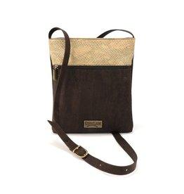 Captain Cork CAROLINE - Shoulder bag brown/alligator