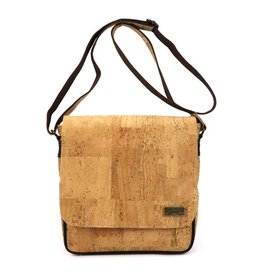 Captain Cork Robin shoulder bag Messenger with flap in natural