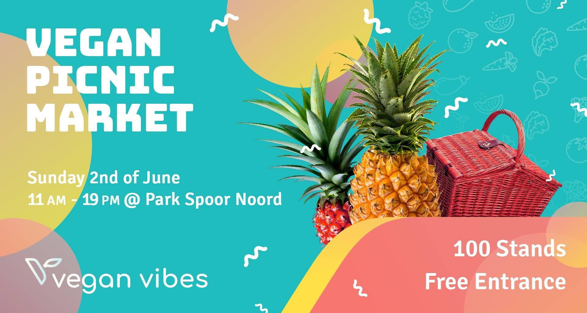 Captain Cork @ Vegan Vibes op 02 juni in Park Spoor Noord