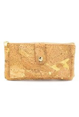Captain Cork Wallet and card holder Elise natural gold