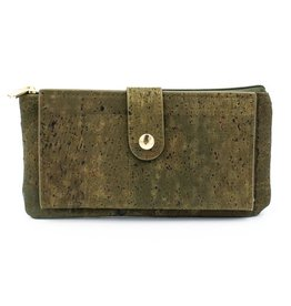 Captain Cork Wallet and card holder Elise green