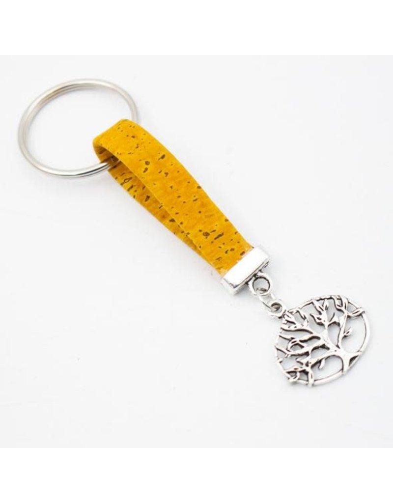 Captain Cork Key chain cork tree