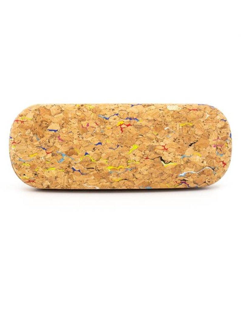 Captain Cork Case for glasses in Confetti Pattern