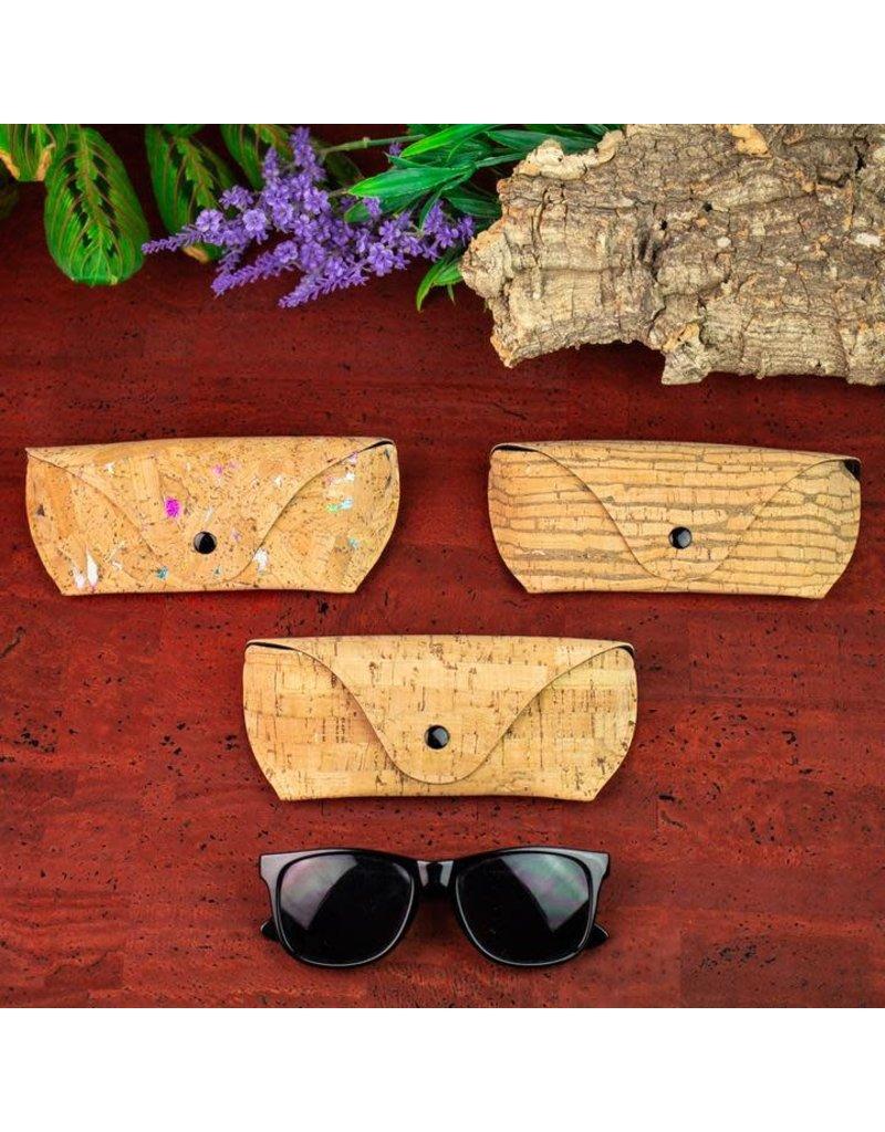 Captain Cork Cork soft case for glasses Confetti print