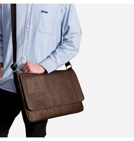 Captain Cork Jo Messenger Lap top / business bag brown