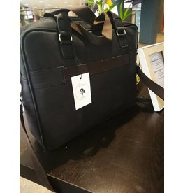 Isy Computer bag in Black