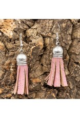Captain Cork Pretty earrings in the shape of a cute tassle made out of 100% cork.