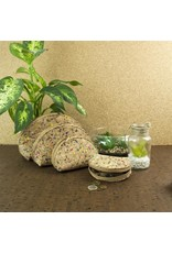 Captain Cork Four beautiful and easy to use toiletries with a traditional cork color look confetti