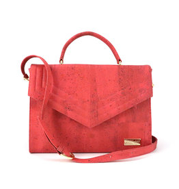 Captain Cork Hand bag Kate Coral red