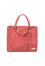 Captain Cork Hand Bag Lies Coral red