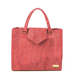 Captain Cork Hand Bag Lies Coral red