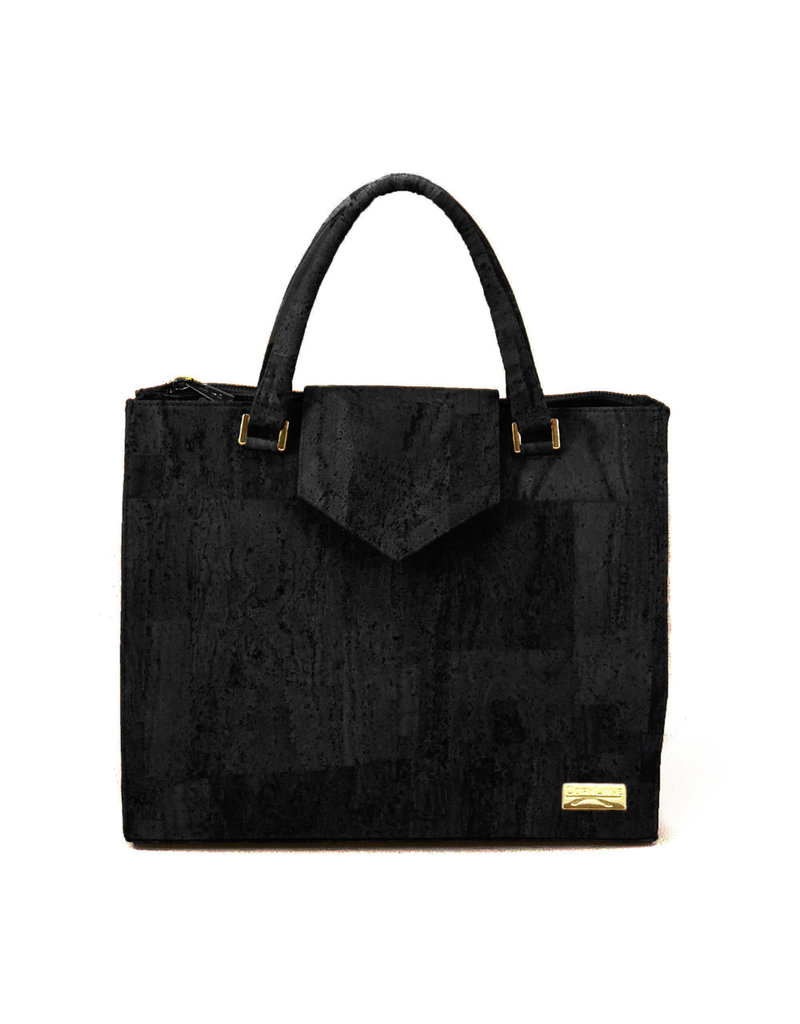Captain Cork Hand Bag Lies Black