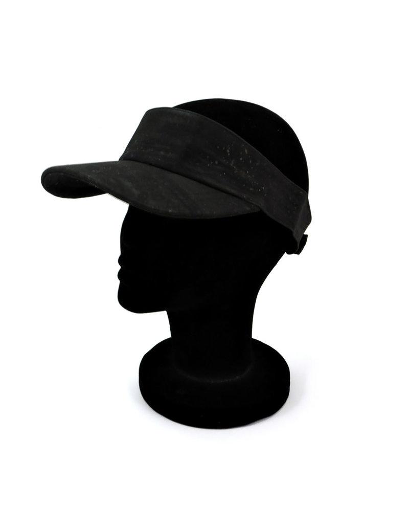 Captain Cork Cap's peak black