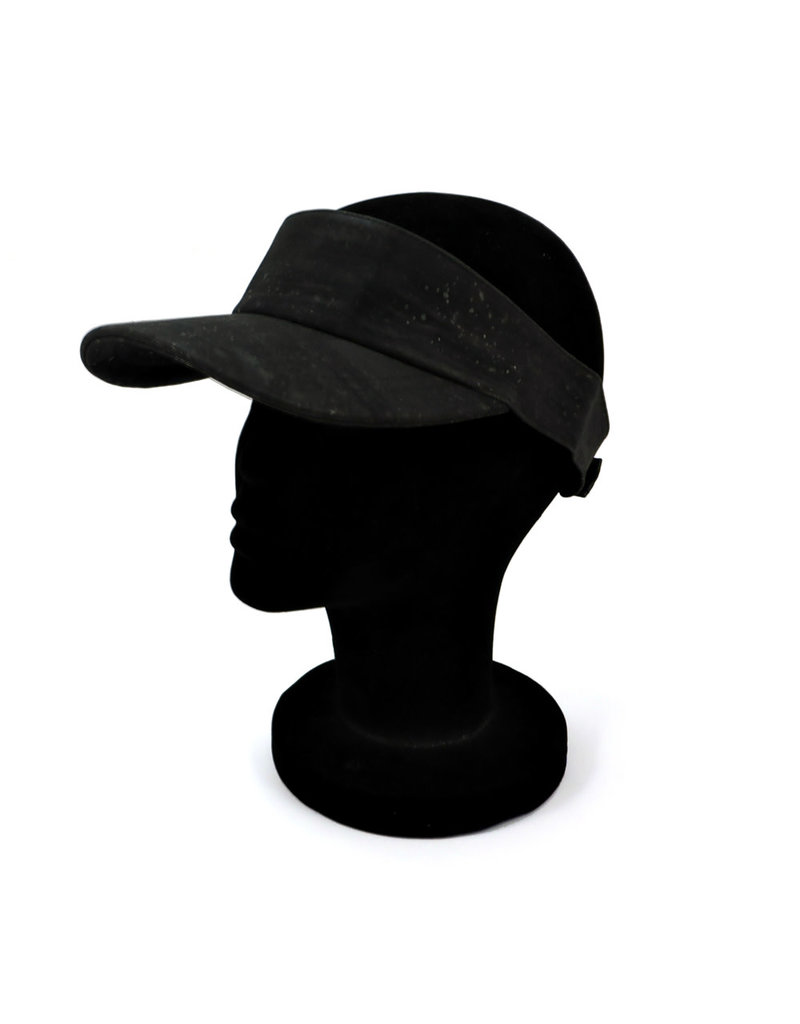 Captain Cork Cork Cap's peak black