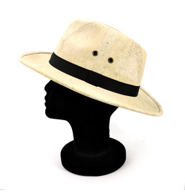 Captain Cork Panama Hat White