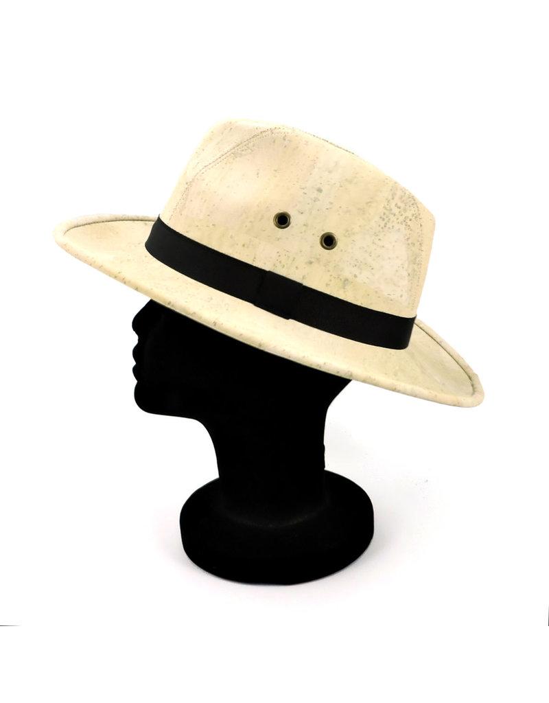Captain Cork Panama Hat White