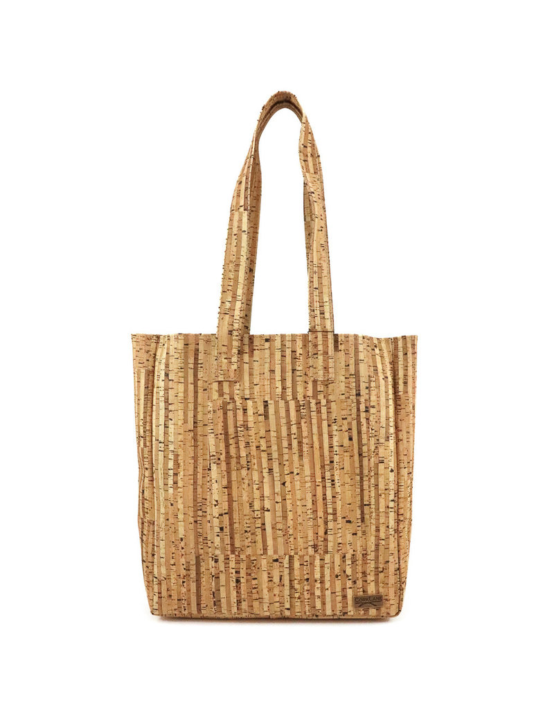 Captain Cork Tote bag / grote shopper Helena  Streepjes