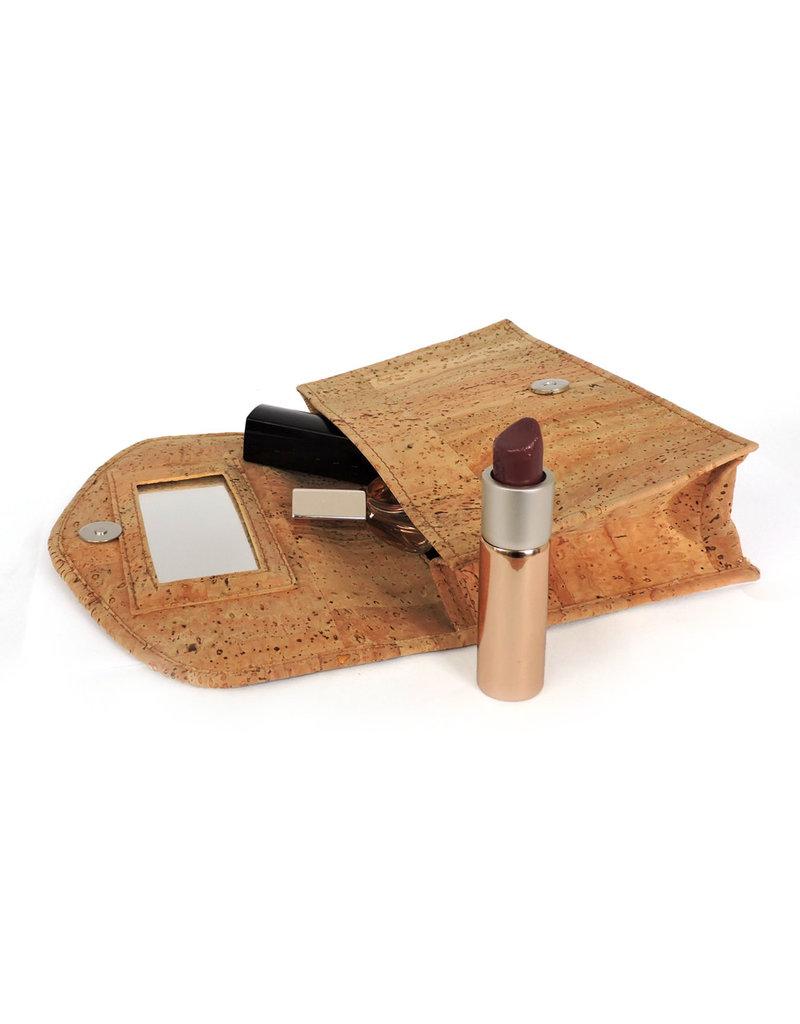 Captain Cork Make up bag / necessaire with mirror