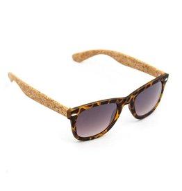 Captain Cork Vegan cork Sunglasses foldable storage box with pattern