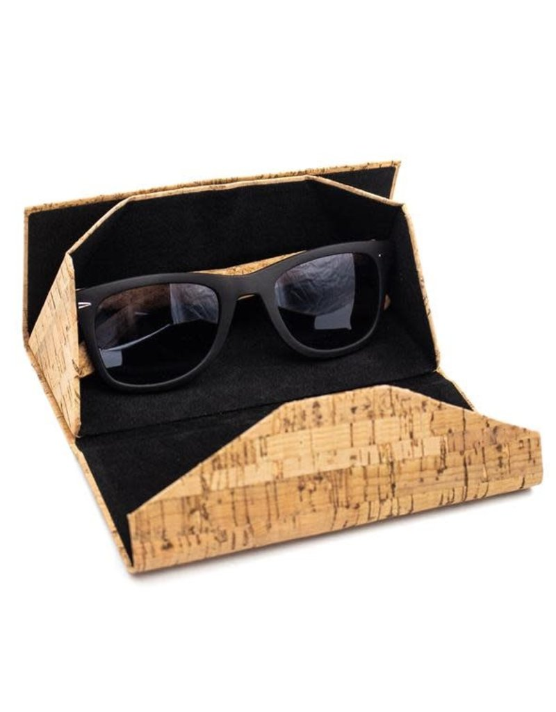 Foldable glasses or make-up box Azulejo print
