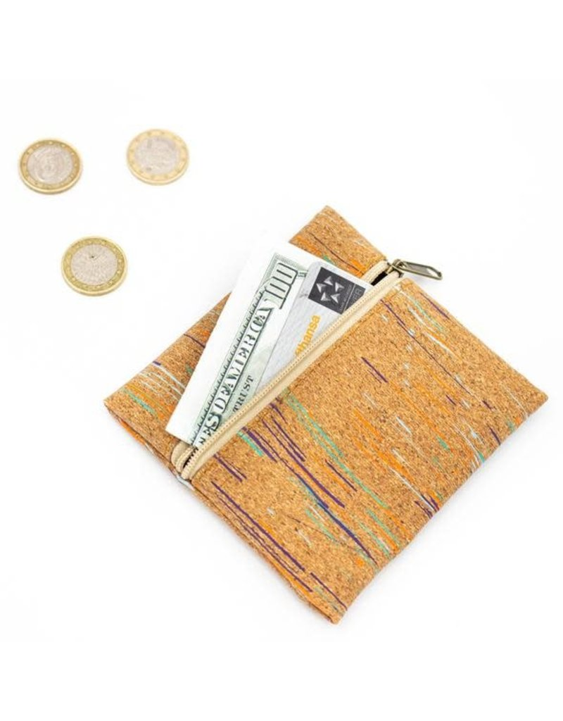 Small wallet coins with colors