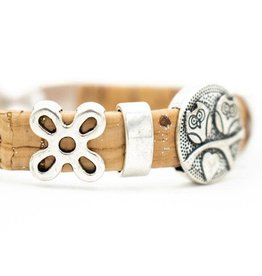 Captain Cork Natural cork cute owl bracelet