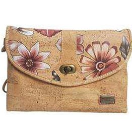 Captain Cork MOLLIE-shoulder bag: spacious with a beautiful floral print. Romantic and stylish