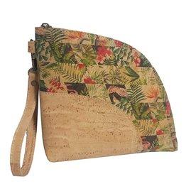 Captain Cork LILOU - Clutch/handtasje tropische bloemen