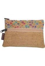 Captain Cork GINA-coin purse with floral print