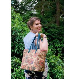 AMY - Tote bag turquoise