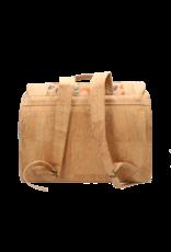 Captain Cork De kleine KAPITEIN - Duurzame boekentas in kurk met fijn vlindermotief