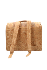Captain Cork The little CAPTAIN - Sustainable schoolbag made out of cork with a beautiful print