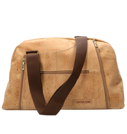 Captain Cork IRINA - Travel bag natural/brown