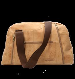 IRINA - Travel bag natural/brown