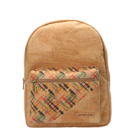 Captain Cork MARGOT - Backpack natural/print