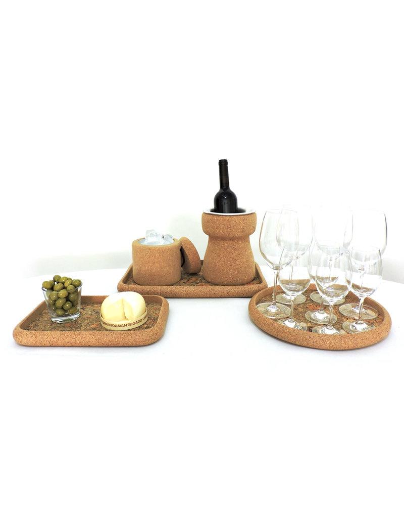 Wijnkoeler uit kurk