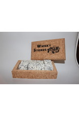 Whiskey Stones with cork box