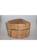 Small bread basket from cork