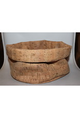 Large bread basket from cork