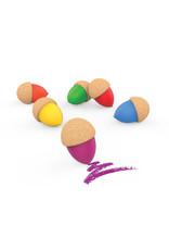 Elou Cork Crayons x6