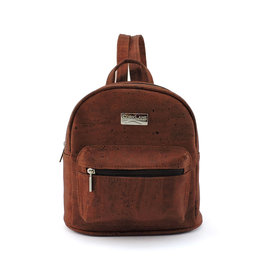 Captain Cork INE - Mini backpack brick brown