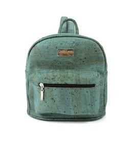 Captain Cork INE -  Mini backpack turquoise