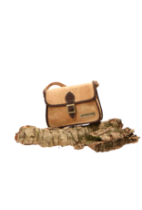 Captain Cork EVY - The corky shoulder coax in natural with cool dark brown/Captain Cork Label